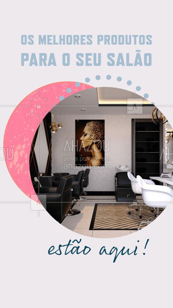 Confira todos os produtos disponíveis para o seu salão e obtenha melhores resultados para os seus clientes! Entre em contato: (inserir contato) #revendadeprodutos #catalogo #beleza #AhazouRevenda #AhazouBeauty #salaodebeleza #produtosdebeleza #produtos