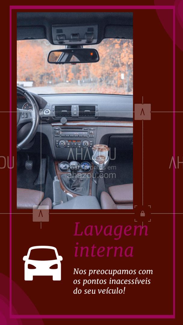 Com a lavagem interna, garantimos a limpeza de pontos inacessíveis! Com a retirada de peças de algumas peças que são removíveis como os bancos, conseguimos alcançar melhor os lugares mais difíceis! Garantindo assim uma melhor limpeza do chão e do teto do seu veículo. #AhazouAuto #lavageminterna  #lavajato #esteticaautomotiva #carros