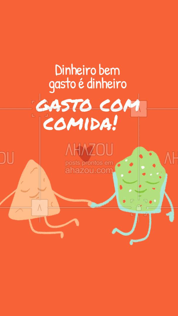 Quando o assunto é comida cada centavo vale a pena né??#ahazoutaste  #eat #ilovefood #instafood #foodlovers #meme #engraçado