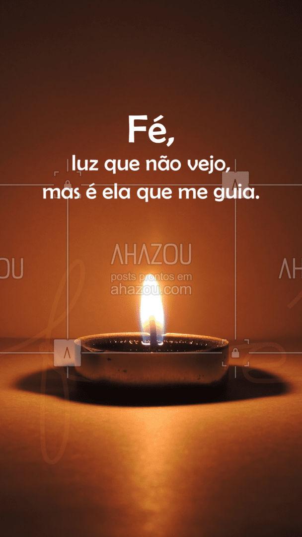 A sua fé, te faz mais forte. Deixe essa luz sempre acesa dentro de você. ??#fé #frase #cura #AhazouFé #fécristã #féemDeus #gratidão #obrigadoDeus #espiritualidade #AhazouFé