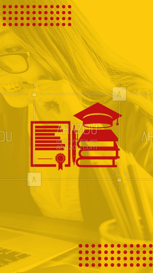 Para mais informações sobre os cursos e valores, entre em contato pelo número (__)_______-________. Matricule-se e invista em seu futuro📚 #promoção #educação #AhazouEdu #cursoprofissionalizante