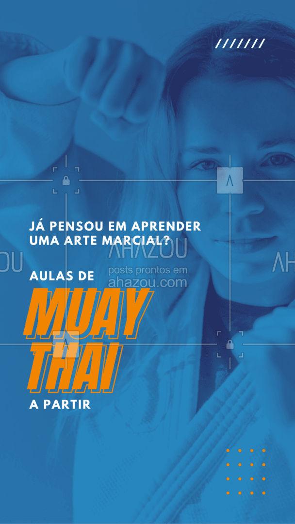 Além de sair do sedentarismo você ainda aprende técnicas de defesa pessoal! Não perca tempo, venha já fazer suas aulas de Muay Thai! #personal #personaltrainer #AhazouSaude #boratreinar #nopainnogain #aulas #muaythai