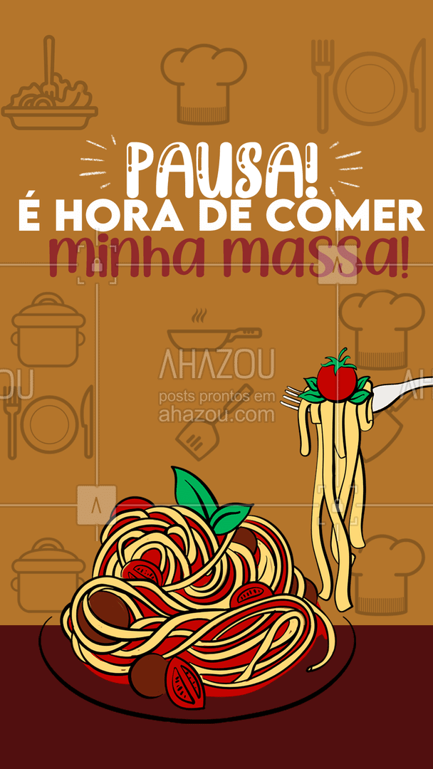Esse momento merece uma pausa acompanhado de uma boa pasta e vinho! 🤤🤤 #ahazoutaste #pasta  #restauranteitaliano  #massas  #italianfood  #comidaitaliana  #cozinhaitaliana #motivacional  #macarrao