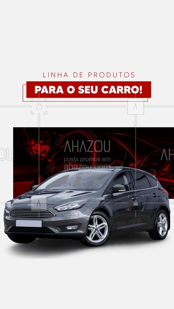 Venha conhecer nossa linha de produtos de cuidado para o seu carro! ? #AhazouAuto  #esteticaautomotiva #automotivos #esteticaelavajato #servicoautomotivo #carros #limpezadecarros
