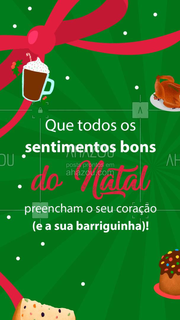 Esses são os nossos votos para o seu Natal! ??? #FelizNatal #ahznoel #ahazoutaste #foodlover #gastronomia #culinaria #ahazoutaste #ahazoutaste