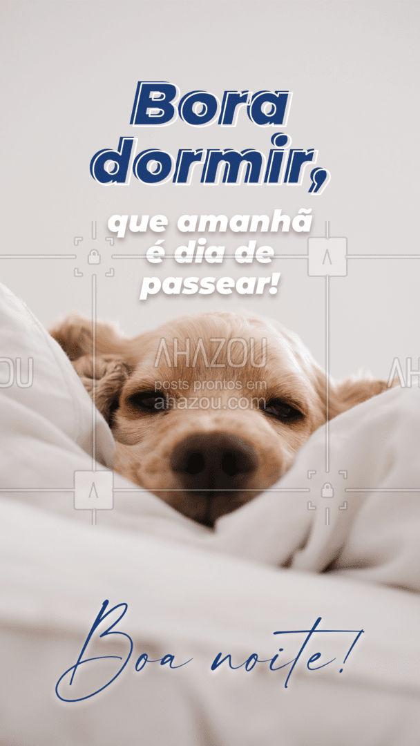 Que sua noite seja tranquila, e que suas energias sejam recarregadas, para mais um dia de muita diversão e passeio com seu pet! #dogwalkersofinstagram #dogsitter #petsitting #AhazouPet #dogwalk #doglover #boanoite #frasedeboanoite