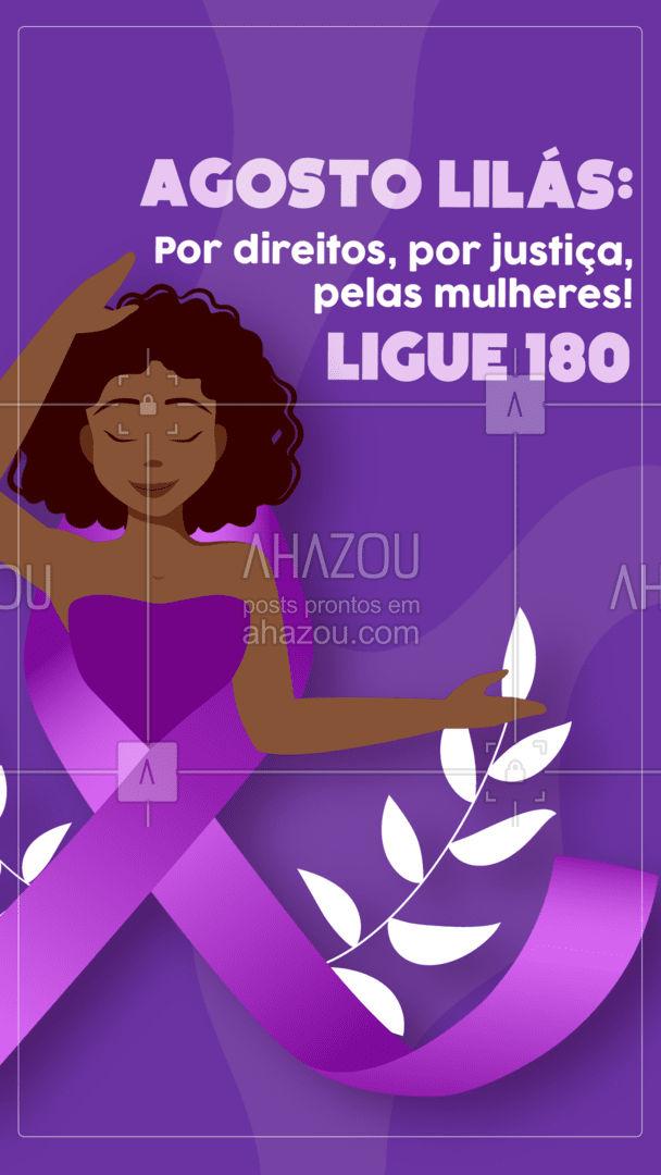 Eu apoio essa causa, e você? Denuncie qualquer tipo de violência contra a mulher! Ligue 180! #ahazou  #frasesmotivacionais #motivacionais #quote #motivacional #violenciacontramulher #crime #denuncie #ligue180 #agostolilas