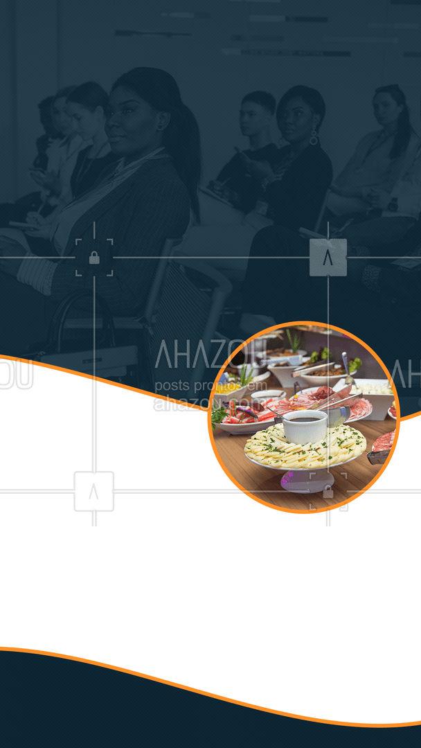 Será uma honra trabalhar com você, estamos aguardando o seu contato! 😉 #buffet #buffetcorporativo #ahazoutaste  #eventos #catering