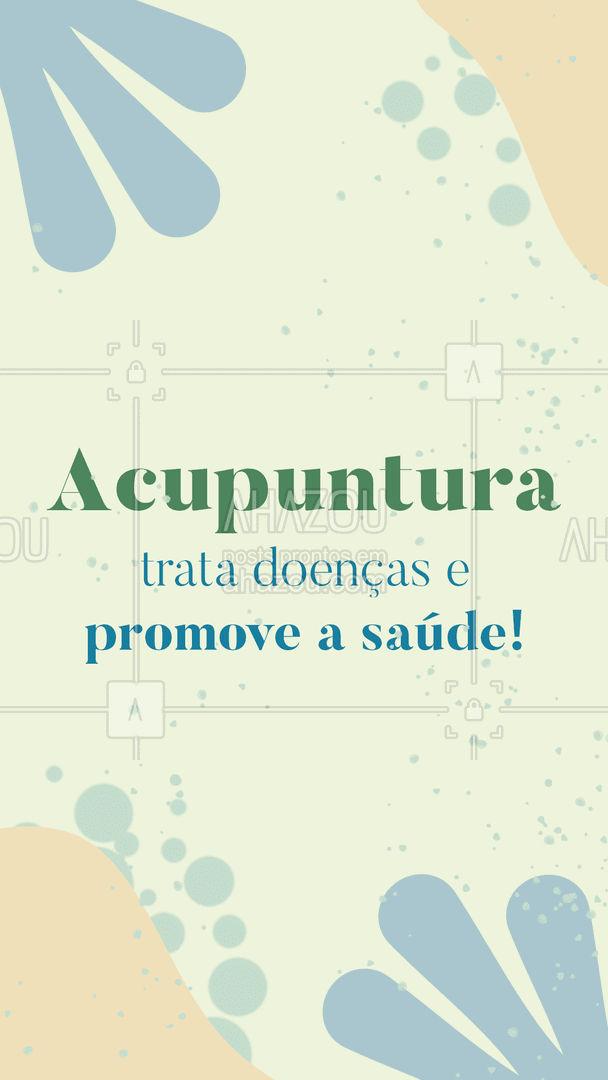 Conheça esse tratamento, marque seu horário e viva melhor!  #AhazouSaude #acupuntura #bemestar  #terapiascomplementares #vivabem  #saude