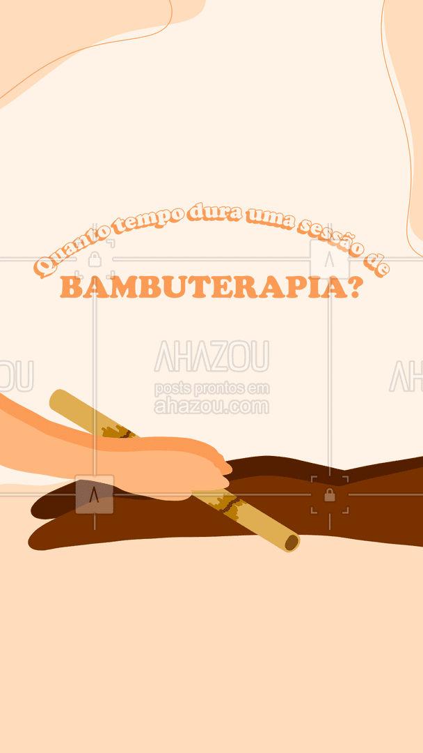 O tempo de sessão também varia. Quickmassage associada com bambuterapia, por exemplo, dura 15 minutos; a massagem facial dura de 15 a 30 minutos; já a drenagem linfática, a massagem relaxante ou terapêutica, dura de 45 a 90 minutos. As sessões, em geral, podem ser feitas até três vezes na semana (em dias intercalados). ❤️ #AhazouSaude  #quickmassage #massoterapia #relax #massoterapeuta #massagem