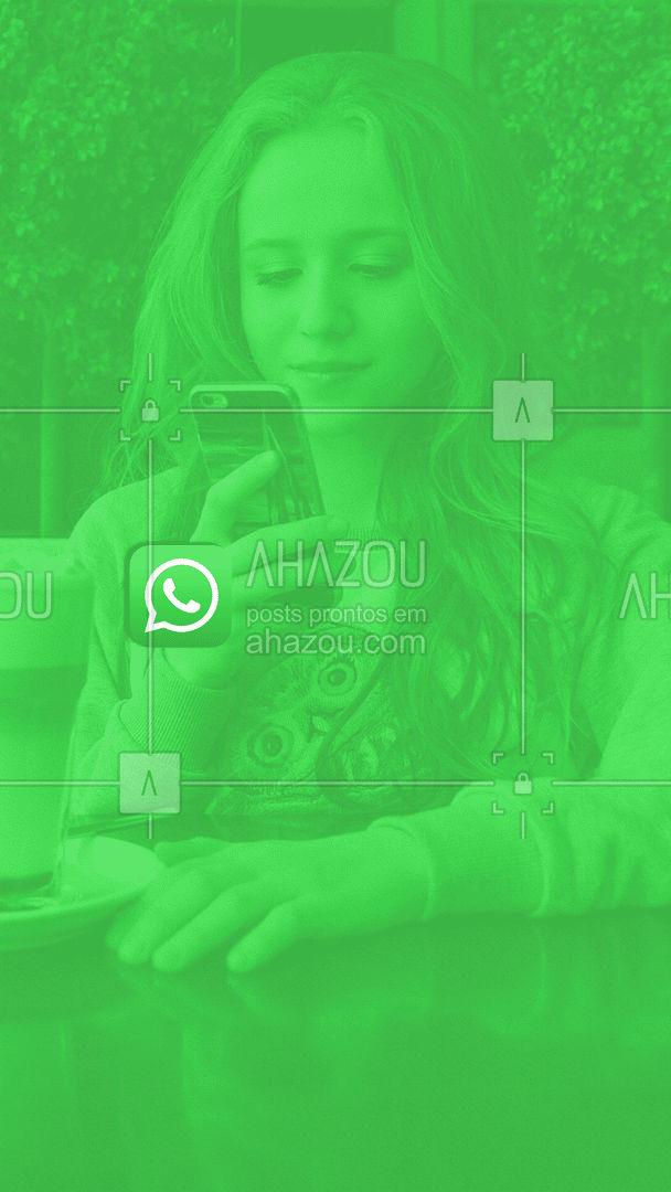 Anote o nosso whatsapp na sua agenda para não esquecer! ☝? #comunicado #ahazou #whatsapp