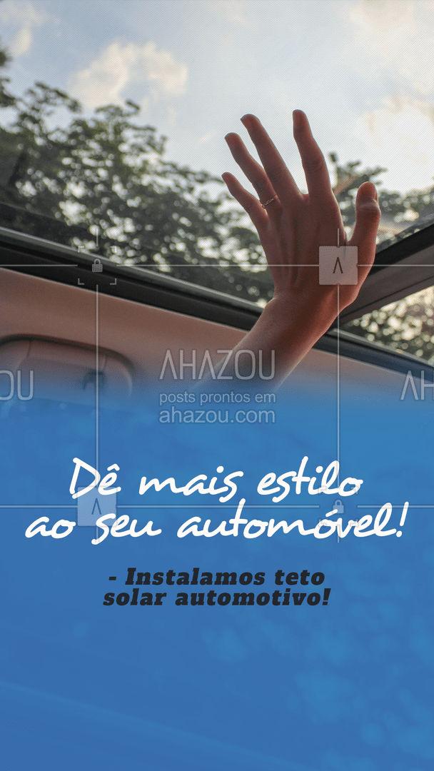 Só fazer seu orçamento e trazer seu carro que a gente instala! #AhazouAuto #automotivos  #instalacao  #automobilistico  #eletricadecarros  #servicosautomotivos  #carros