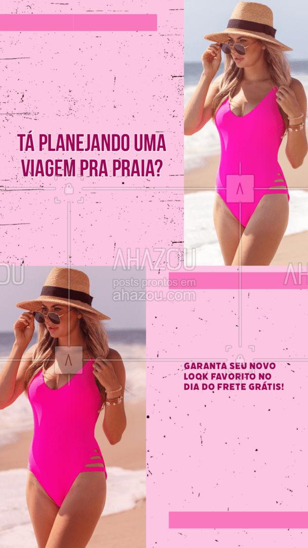 Todas as peças da loja estão sem taxa de entrega para você arrasar! #AhazouFashion  #tendencia #moda #modapraia #summer #praia #beach #fashion #verao