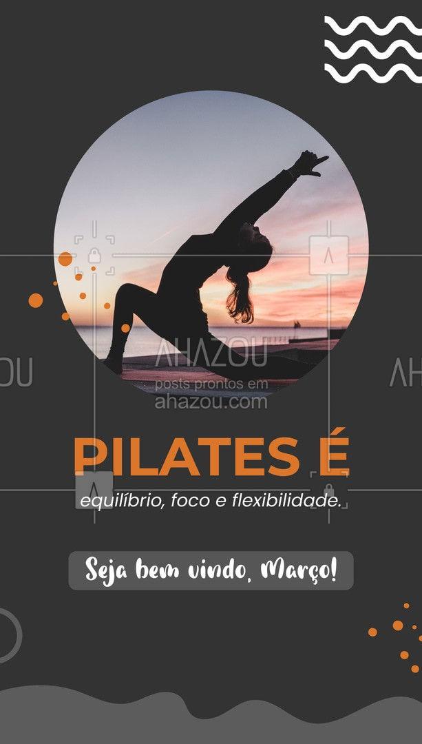 Seu corpo é seu maior tesouro. Cuide dele, pratique pilates. #AhazouSaude #pilatesbody #pilates #fitness #workout #pilateslovers #AhazouSaude
