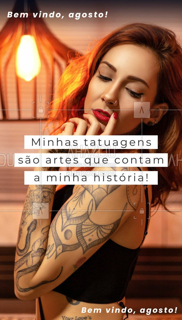 Quanta história você já tem para contar no seu corpo? Diz ai #AhazouInk  #tattoofloral #bodypiercing #estudiodetattoo #tattoocolorida #tracofino #tatuagem #tattootradicional #tatuagemfeminina #tattooepiercing #piercing #dicadetattoo #tattoos #flashday #tattoo #cicatrizacao