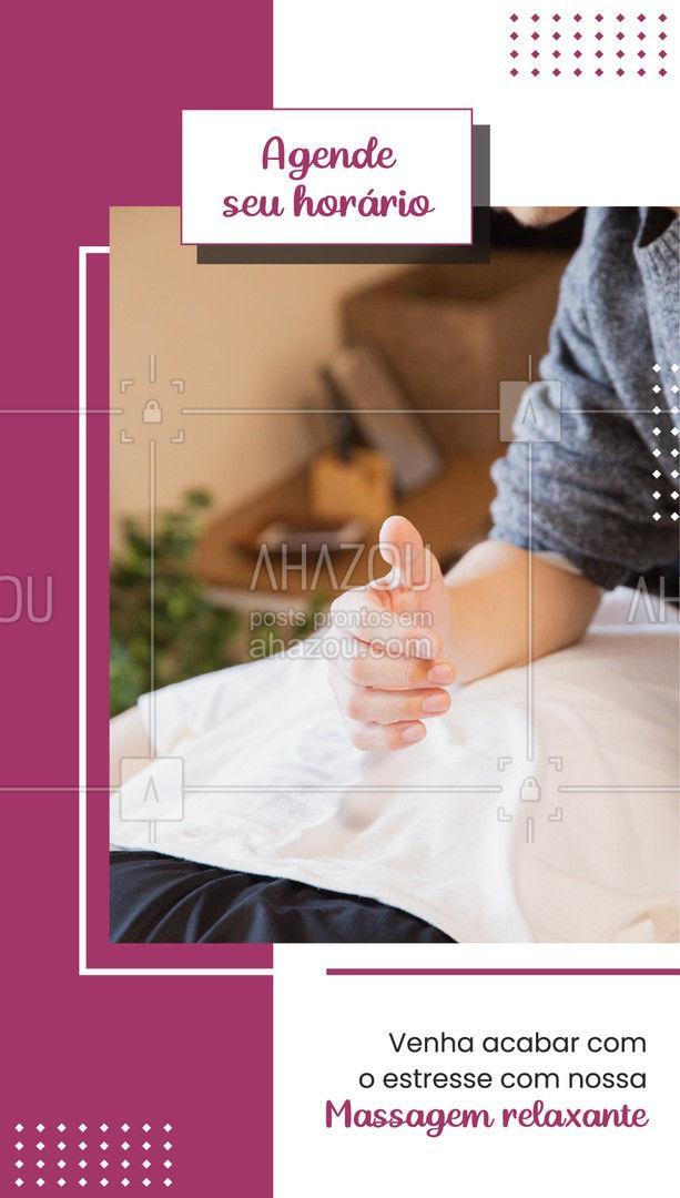 Nada que uma massagem não resolva! Agende sua massagem: (xx) xxxx-xxxx #AhazouSaude  #quickmassage #massoterapia #relax #estresse