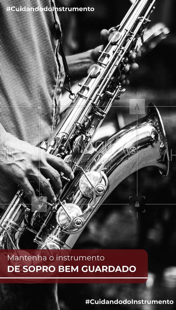 Aposte em uma boa case. Além de ela proteger contra possíveis quedas, ela ainda mantém o seu instrumento longe de sujeiras e poeiras!  #instrumentos #instrumentosdesopro #AhazouEdu  #professordemusica #aulademusica