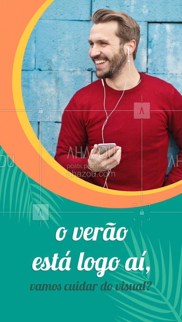 Marque seu horário agora e aproveite os valores especiais de verão! ? (inserir telefone) ?? #verão #barberlife #barba #ahazoubeauty #barbeiro #barbeirosbrasil #barbearia