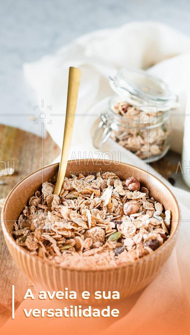 A aveia é um alimento super versátil, muitas vezes substituto da farinha de trigo, sendo utilizado para fazer pães, bolos e biscoitos. Ela também é muito utilizada na dieta vegana e vegetariana, por possuir alto teor de proteína, também é utilizado para quem deseja reduzir medidas, mas lembre-se que ele não deve ser consumida em excesso, como qualquer outra farinha. ?Ajuda a diminuir a pressão arterial; ?Reduz o colesterol ruim; ?Controla o açúcar no sangue; ?Melhora a digestão; ?Melhora a saúde cardíaca; ?Dá energia; ?Melhora o humor. #superalimento #saudavel #veggie #crueltyfree #fit #vegetariano #ahazoutaste #aveia