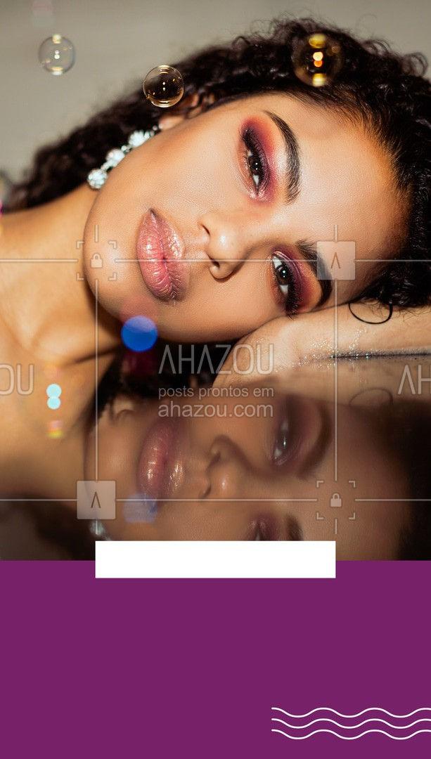 Se sentir bem e bonita deixa toda mulher iluminada. Consulte nossa agenda e arrase com sua make. #AhazouBeauty  #makeup #maquiagem #maquiadora #makeoftheday