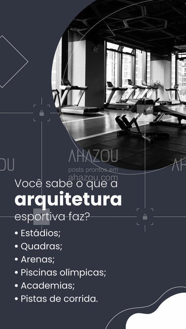 Precisando de um projeto esportivo? Conta com a gente! ??? #arquiteturaesportiva #arquitetura #AhazouDecora #AhazouArquitetura  #arquiteto