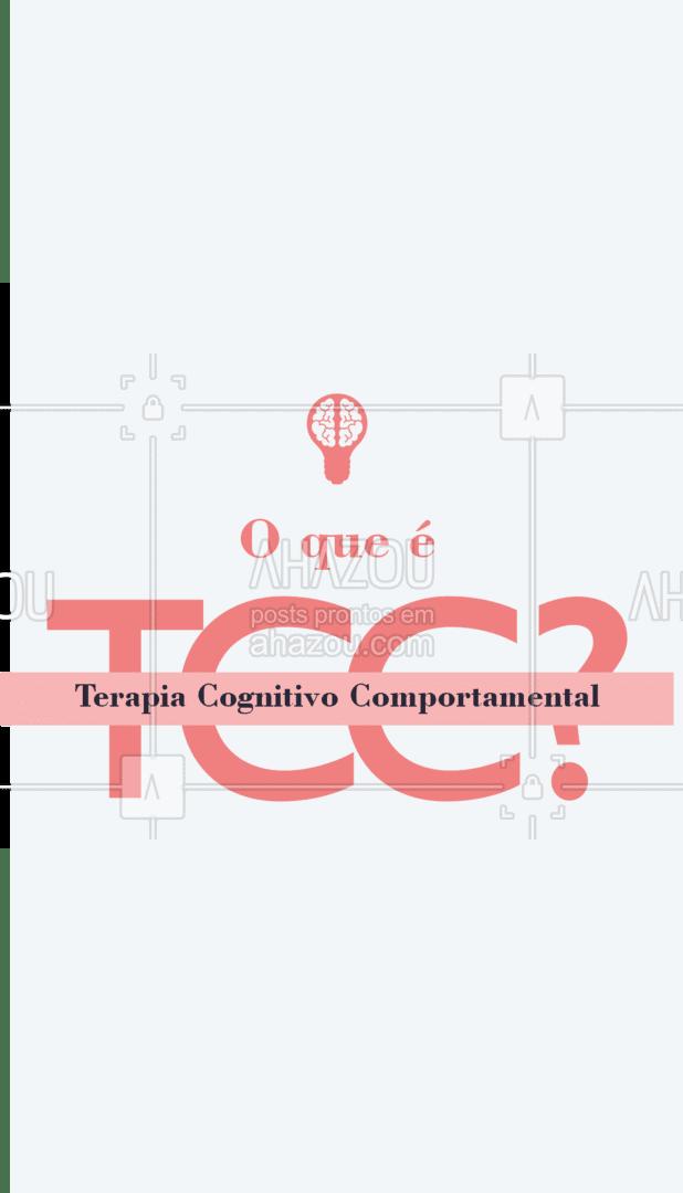 Muito tem se falado da Terapia Cognitivo Comportamental, também conhecida por TCC. Essa é uma   abordagem considerada diretiva e focada no problema atual do paciente.  Mas o que isso significa?  A abordagem em TCC traz resultados expressivos para a demanda que o paciente busca resolver em terapia, em um tempo mais breve de tratamento do que o habitual de outras terapias convencionais. #tcc #AhazouSaude  #terapiascomplementares #bemestar #mentalhealth #saudemental