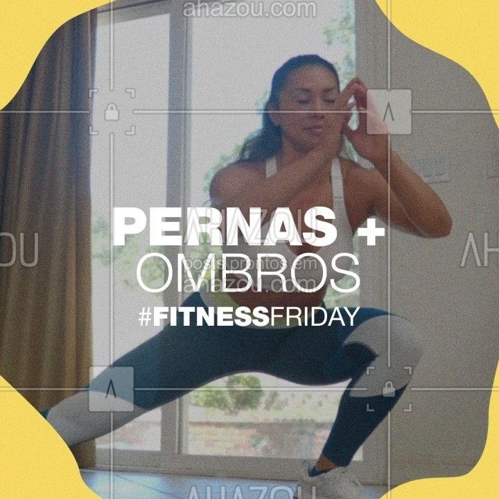 Que tal aproveitar a #fitnessfriday e treinar pernas + ombros? A sequência é bem fácil e prática de fazer e você só precisa de um colchonete e os halteres. Não esqueça de se hidratar sempre.⠀⠀ Marque aqui o(a) seu(ua) parceiro(a) de treino que vai te acompanhar nessa #fitnessfriday.⠀ #FitnessFriday #LifeON #HerbalifeNutrition #Exercícios #Treino #ahazouherbalife #ahazourevenda