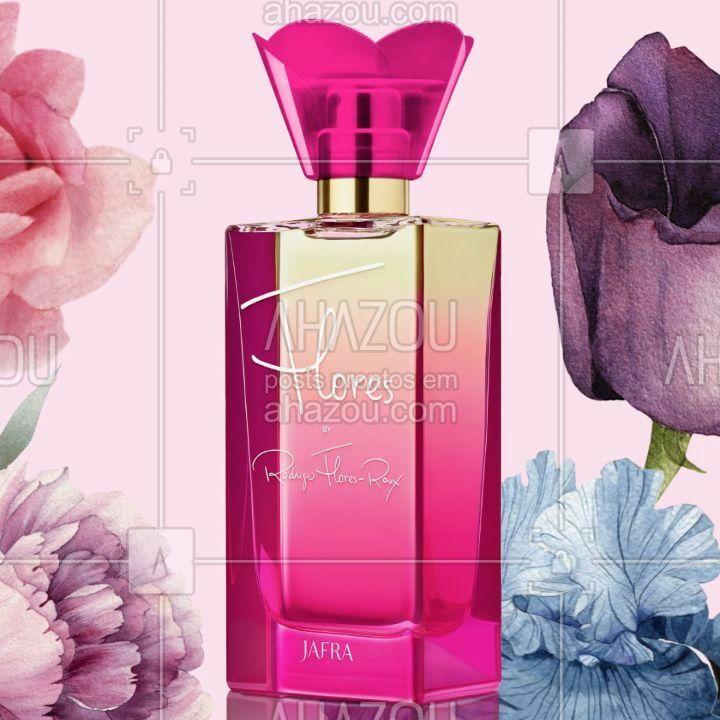 Conheça Flores, nosso lançamento em perfumaria feminina! Um delicioso convite ao espetacular e vibrante mundo floral, com uma elaborada combinação de notas de laranja, orquídeas raras e musk. Esta é a segunda fragrância da premiada linha Perfumer's Edition. Para quem ama Paris et Moi, com certeza irá se encantar também com Flores!  #LancamentoJafra #Flores #Fragrancia #Perfume #PerfumeFloral #RodrigoFloresRoux #Jafra #JAFRABrasil #JAFRACosmeticos #LiberdadeParaSerVoce
