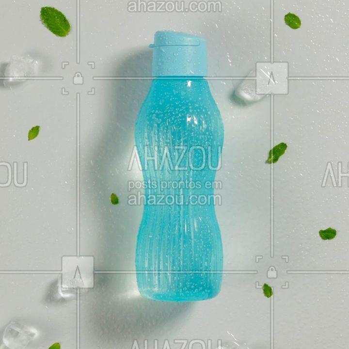 Com indicador de limite de água para congelar, ranhuras para proteger a sua mão e tampa fácil de abrir, a nova Eco Tupper Freezer chegou, com muita tecnologia e #ahazoutupperware #ahazourevenda
