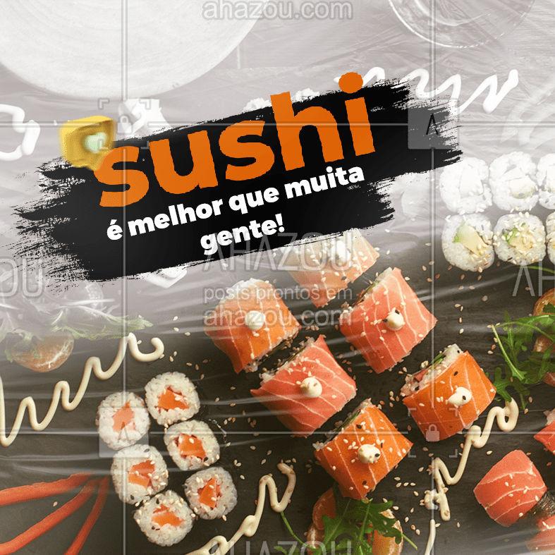 Tá esperando o que pra fazer o seu pedido?  Faça seu pedido pelo APP e garanta descontos exclusivos. ⠀ Baixe agora pelo link na BIO e aproveite ?  #ahazoutaste #sushidelivery #comidajaponesa #japanesefood #sushitime