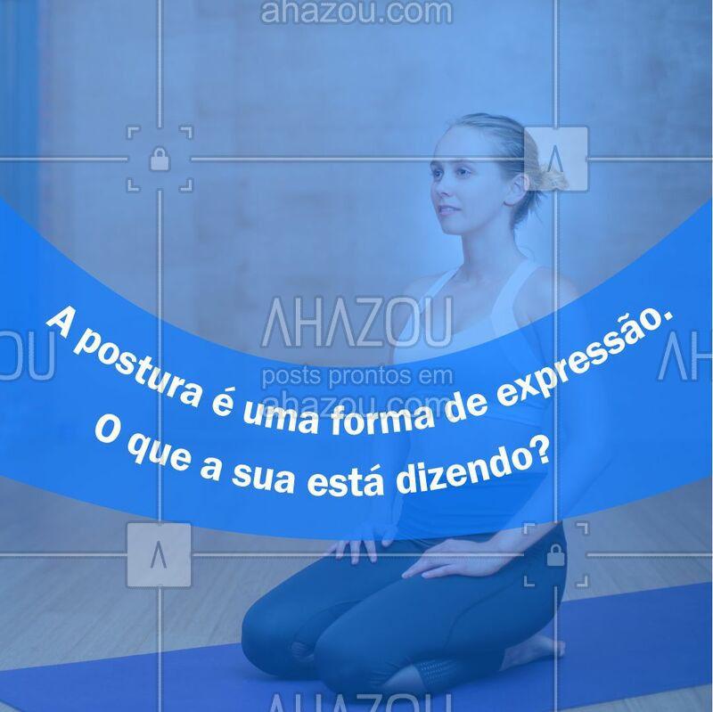 Conta pra gente! ? #coluna #ahazou #fisioterapia