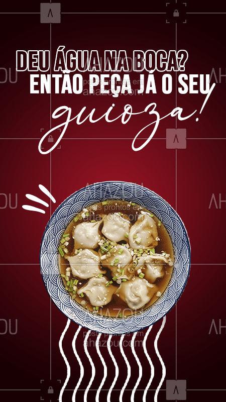 Fala sério, não tem como resistir a essa maravilha não é mesmo? Então entre em contato e peça já o seu! #japa #japanesefood #ahazoutaste #comidajaponesa #guioza
