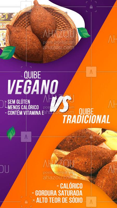 Alimentos veganos são sempre a opção mais saudável (além de deliciosos) ?  Que tal experimentar essa quibe??  #vegano #alimentaçãosaudavel #quibe #ahazoutaste #bandbeauty