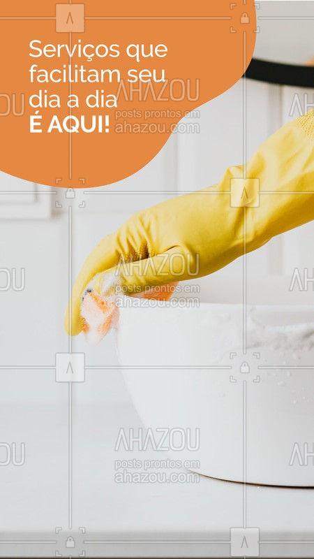 Sua casa merece o melhor! Seja uma reforma, uma boa faxina, uma pintura ou até mesmo um reparo! Conte sempre com profissionais qualificados!  #servicosparacasa#AhazouServiços