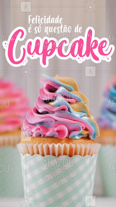 Melhor ainda é ter essa felicidade presente no seu evento ? Faça já sua encomenda ?  #festas #doces #cupcake #bandbeauty #ahazou