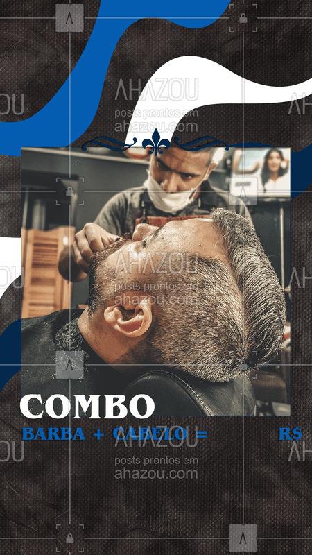 O melhor preço e o melhor corte da região é aqui! Bora dar um trato no visual! Agende seu horário! #ahazou #barber #barbearia