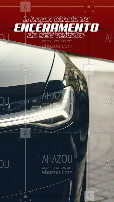 Conheça algumas das vantagens em encerar o seu carro! Vamos lá: 1) O enceramento garante que seu carro não acumule sujeira. 2) Seu carro fica mais brilhoso, e a cera ajuda a manter o brilho natural do mesmo. 3) Mantém a pintura sem porosidades, logo ela se torna mais lisa.  4) Dá uma cara nova ao seu carro!  Curtiu? Vamos fazer um enceramento no seu carro! ??  #AhazouAuto #carro #carros #enceramento #cera  #automotiva #carros #esteticaautomotiva #lavajato