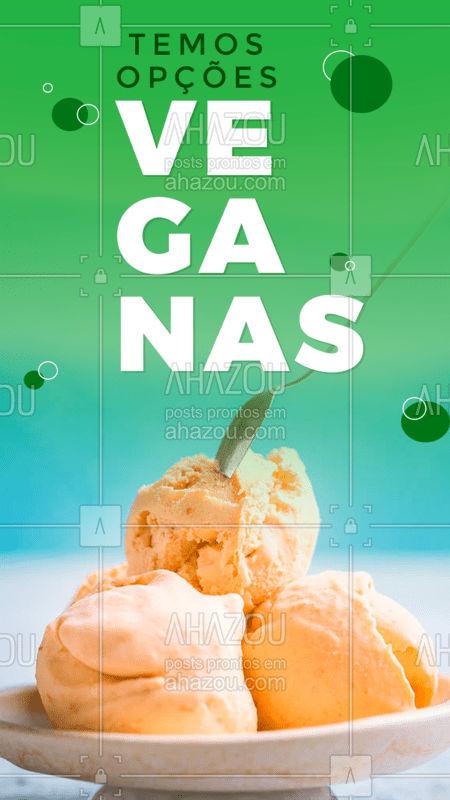 Venha conhecer nossas opções veganas!              #ahazou #gastronomia #comida #vegano