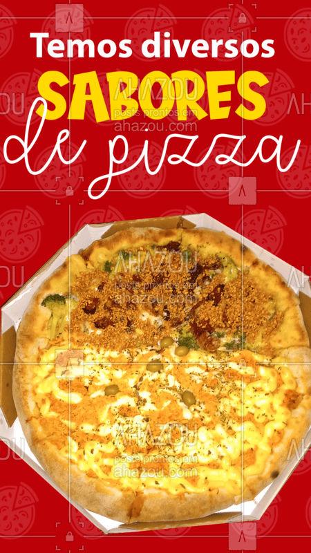 Escolha o seu preferido! Peça já! ???   #Pizza #Pizzaria #ahazoutaste #SaboresdePizza  #pizzalovers
