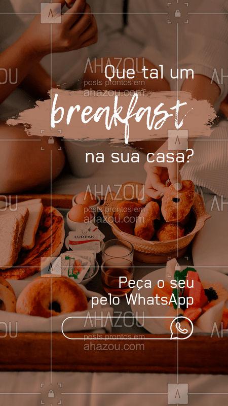 Que tal começar o dia com um delicioso breakfast no conforto da sua casa? Estamos com delivery funcionando normalmente, tomando todos os cuidados de prevenção. Peça o seu pelo nosso WhatsApp.   #breakfast #café #delícias #ahazoutaste #quarentena #coronavírus