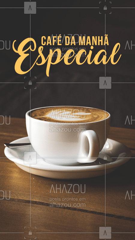 Estamos preparando um delicioso café da manhã, exclusivo pra vocês, nossos queridos clientes ☕? #cafedamanha #cafeespecial #ahazou