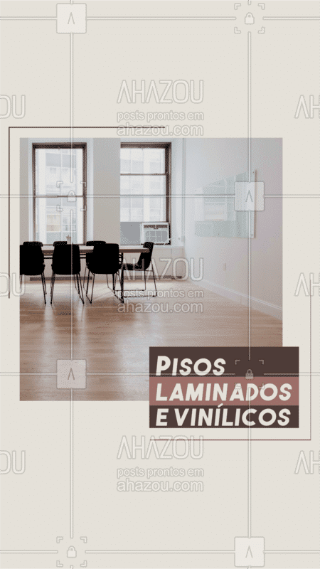 Trabalhamos com pisos laminados e vinílico. Faça seu orçamento via whatsapp: #pisos #obra #AhazouServiços #reforma