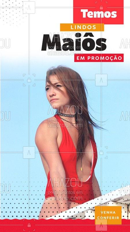 Você não pode perder  vários maiôs  em promoção, venha conferir! Um modelo mais lindo que o outro! #Maiô #Ahazou #Promo