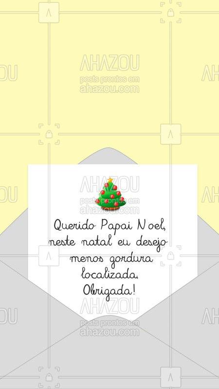 O Papai Noel me encaminhou sua cartinha, vamos agendar seu horário e realizar seu desejo? ✉?  #estetica #ahazou #natal