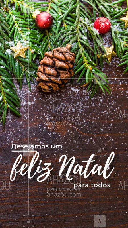 O natal chegou e nós desejamos a vocês um ótimo final de ano, muitas realizações e um próspero ano novo. #natal #ahazougastronomia