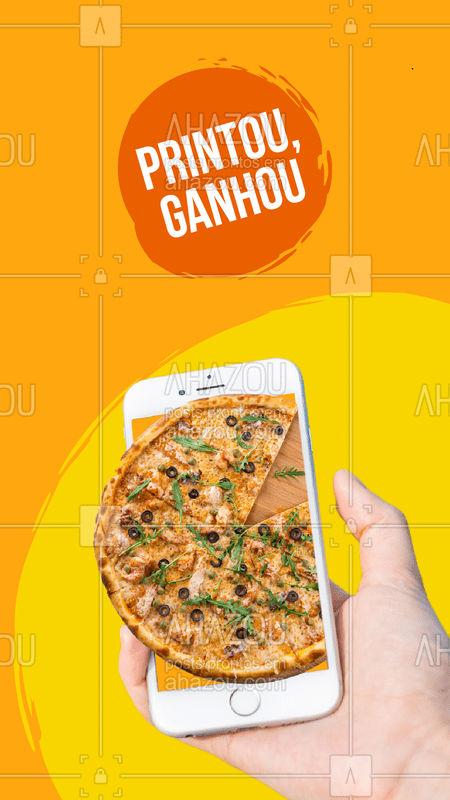 Promoção ESPECIAL: Na compra de uma pizza, apresente o print dessa publicação e ganhe um refrigerante ? #pizza #ahazoutaste #pizzaria