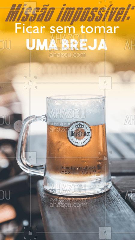 Diz aí, quem consegue ficar sem tomar uma brejinha na semana? ? #cerveja #ahazoutaste #engracado