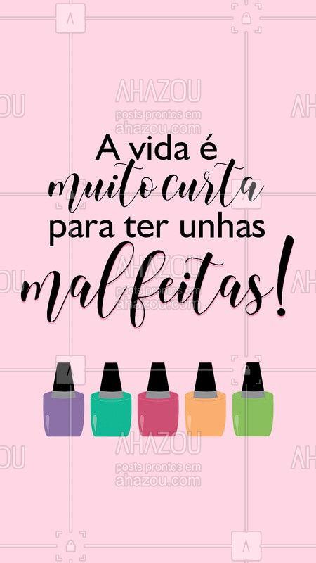 Agende o seu horário agora mesmo! #manicure #ahazou #unhas #bandbeauty