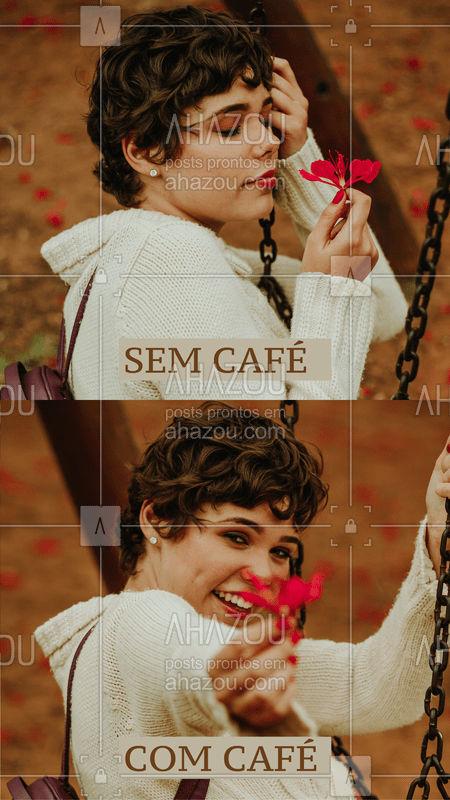 E para dar aquela coragem, vai um cafézinho caprichado? #cafe #ahazoutaste #cafeteria