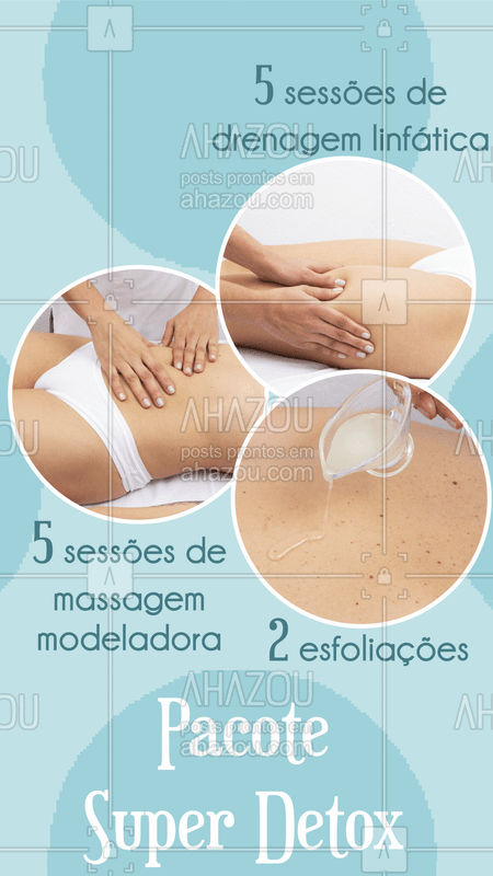 Aproveite este combo incrível e agende o seu horário! ? #esteticacorporal #drenagem #ahazou #massagemmodeladora #esfoliacaocorporal